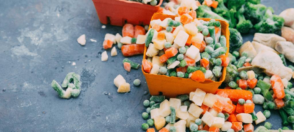 Verduras congeladas